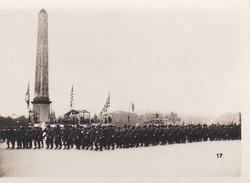 MINI PHOTO--PARIS-défilé De L'infanterie Américaine Place De La Concorde--libération 1944 Armistice-voir 2 Scans - Photographie