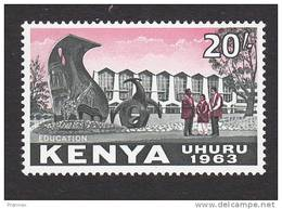 Kenya, Scott #14, Mint Never Hinged, Royal College, Nairobi, Issued 1963 - Kenia (1963-...)