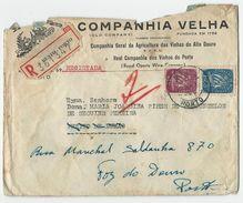 Cover * Portugal * 1949 * S. Bento * Porto * Companhia Velha * Registered - 1910-... République
