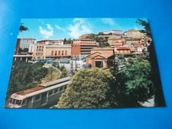 TRENO TRAIN STAZIONE FERROVIARIA S. ANNA PERUGIA  PULLMAN CORRIERE - Stazioni Con Treni