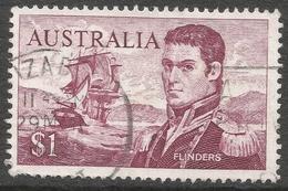 Australia. 1966-73 QEII Definitives. $1 Used SG 401 - 1966-79 Elizabeth II