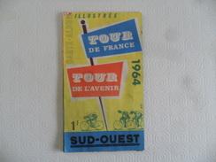 (Sport - Cyclisme, Journal Sud-Ouest...) -  Carte Album Illustrée - Tour De France, Tour De L'Avenir 1964.....voir Scans - Cycling