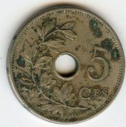 Belgique Belgium 5 Centimes 1904 Français KM 54 - 1865-1909: Leopold II