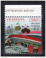 Armenien / Armenie / Armenia 2014, Youth Olympic Games NANJING China, Stadium, Medals, Sport - MNH ** - Summer 2014 : Nanjing (Youth Olympic Games)