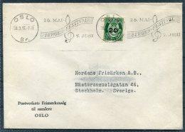 1955 Norway Bergen Music Festival Cove - Norway