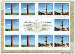 Markenheftchen Bund Postfr. MH 86 Leuchttürme MNH ** - Booklets