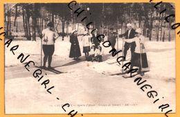 Cauterets - Sports D'Hiver - Groupe De Skieurs Avec Enfants - Traineau - Luge - Animée - 1930 - B.R. 1270 - Cauterets