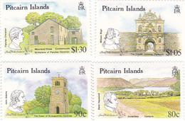 Pitcairn Islands 1990 London 90 Set MNH - Timbres