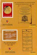 Andorra Viguerie Andorre**LUXE 1998 Bloc Feuillet 57 Et 58 La Paire, Constitution - Timbres