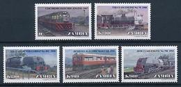 [62192] Zambia 1999 Railway Train Eisenbahn Chemin De Fer  MNH - Trains