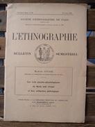79Bv   Livret Bulletin Orientaliste Semestriel N°23 De 1931 De Marcel Jousse L'Ethnographie - Geheimleer