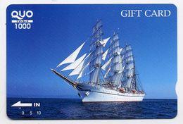 VOILIER Bateau Boat Carte Karte Card (D.135) - Bateaux