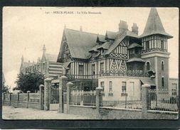 CPA - BERCK PLAGE - La Villa Normande - Berck