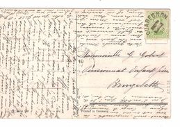 TP 137 S/CP Fantaisie C.Fortune Quaregnon En 1919 Date&mois Barrés V.Brugelette C.d'arrivée 10/4/1919 PR4842 - Fortune Cancels (1919)