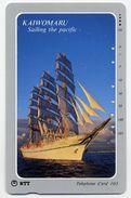 VOILIER Bateau Boat Télécarte Telefonkarten Phonecard (D.136) - Bateaux