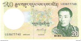 Bhutan - Pick 30b - 20 Ngultrum 2013 - Unc - Bhoutan