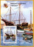 Andorra Viguerie Andorre**LUXE 1992 Bloc Feuillet 21 Franchise Postale 150 Ans - Viguerie Episcopale