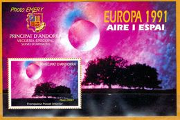 Andorra Viguerie Andorre**LUXE 1991 Bloc Feuillet 20 Europa - Viguerie Episcopale