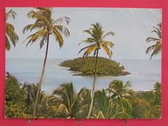 Guyane Française - Iles Du Salut - L'Ile Du Diable Vue De L'Ile Royale - Scans Recto-verso - Guyane
