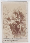 Bergsteiger. 1916,  Rax. Privataufnahme. Vignette - Alpinismus, Bergsteigen