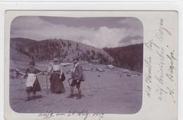 Berggänger-Familie Auf Steirischen Bergen - Alpinismus, Bergsteigen