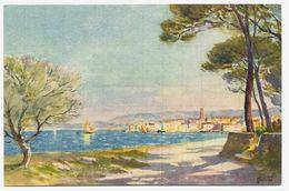 13 - Peinture Tableau De Martigues (Bouches Du Rhône) - STZF N° 742 Martigues Edition Stehli - Cpa - Martigues