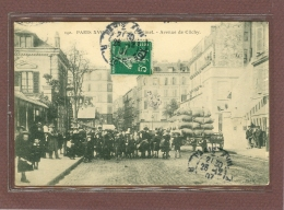 PARIS (75) 17ème - RUE CARDINET AVENUE DE CLICHY - Arrondissement: 17