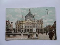 Gare Centrale Anvers 1921 - Antwerpen