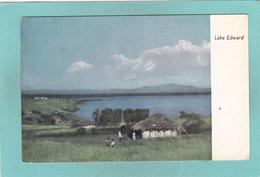 Old Postcard Of Lake Edward,African Great Lakes,(DRC) And Uganda,V27. - Uganda