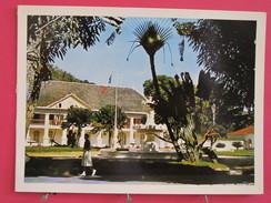 Guyane Française - Carte De Voeux - Batiment à Identifier (mairie ?) - Scans Recto-verso - Other