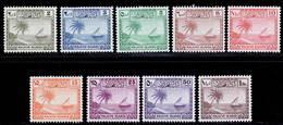 Maldive Islands 1950 MNH Set SG 21/29 Cat £50 - Malediven (...-1965)