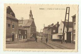 Bellaire  * L'Eglise Et L'arrêt Du Vicinal - Beyne-Heusay