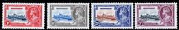 Montserrat 1935 Silver Jubilee MNH/MH Set SG 94/97 Cat £10 - Montserrat
