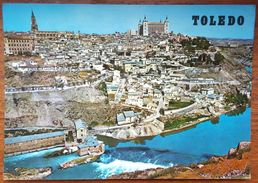 TOLEDO - VISTA GENERAL - EMA Red Stamp Hotel Florida Norte Madrid - Vg - Toledo