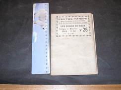 CARTE TARIDE N°26- LES BORDS DU RHIN DE COLOGNE A MAYENCE - Geographical Maps