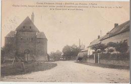 CPA 02 JEANTES Par Plomion Canton D'Aubenton Eglise Fortifiée - France