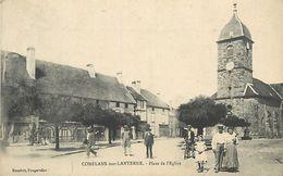 A-17.9819 : CONFLANS-SUR-LANTERNE. PLACE DE L EGLISE - Otros Municipios