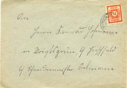 (k4709) Brief SBZ St. Zwickau - Zone Soviétique