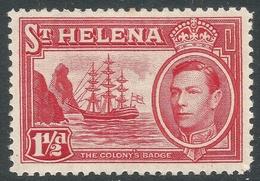 St Helena. 1938-44 KGVI. 1½d MH. SG 133 - Saint Helena Island