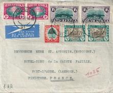 AFRIQUE DU SUD SOUTH AFRICA SUID AFRIKA Belle Lettre 1939 - South Africa (...-1961)