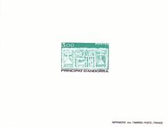 Andorra Francesa Nº 335 Al 336 En Pruebas - Unused Stamps