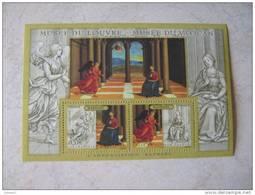 2005    BF 90 * *   YT 3838/3839   ANNONCIATION DE  RAPHAEL MUSEE DU LOUVRE ET VATICAN - Ungebraucht