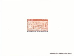 Andorra Francesa Nº 337 En Prueba - Unused Stamps