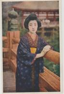 Jap186 / Gheisha-Karte Um 1900, Ungebraucht - Japan