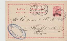 Pal002 / P 9 (1903 )  Jaffa Nach Belgien Via Port  Said 1905 - Palästina