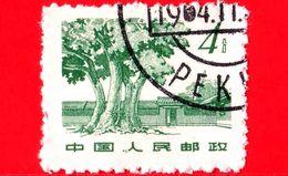 CINA - Usato - 1961 - Flora - Piante - Alberi - Tree - 4 - 1949 - ... Repubblica Popolare