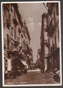 Trapani - Via Torrearsa - Viaggiata Per Firenze Nel 1940 - Autografo Aldo Toscanini - Trapani