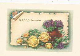 Carte De Voeux , Mignonette , BONNE ANNEE , 1960 , écrite , Fleurs - Año Nuevo
