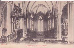 CPA - LAGNIEU (Ain) - Intérieur De L'église - Autres Communes