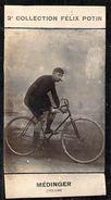 Photo Ancienne De Médinger   Coureur Cycliste Vélo  Course - Félix Potin